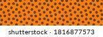 halloween pattern . happy...   Shutterstock .eps vector #1816877573