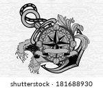 compass | Shutterstock .eps vector #181688930