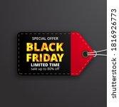 pricetag label price discount... | Shutterstock .eps vector #1816926773