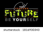 created your own future  modern ... | Shutterstock .eps vector #1816930343