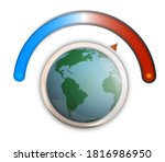 global warming  climate...   Shutterstock .eps vector #1816986950