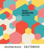 Vector Seamless Geometric...