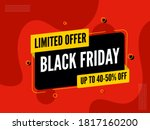 up to 40 50  off for black...   Shutterstock .eps vector #1817160200