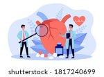heart disease research concept. ... | Shutterstock .eps vector #1817240699