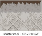 rustic distressed abstract... | Shutterstock .eps vector #1817249369