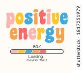 positive energy loading concept ... | Shutterstock .eps vector #1817251979