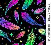 seamless pattern depicting... | Shutterstock .eps vector #1817374529