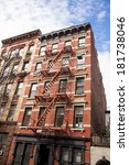 new york city apartments | Shutterstock . vector #181738046