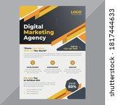 business flyer for business... | Shutterstock .eps vector #1817444633