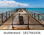 Old Abondend Pier In...