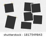 set of photo frames. template... | Shutterstock .eps vector #1817549843