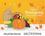 Happy Thanksgiving Day Poster...