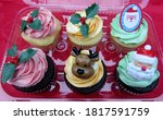 Christmas Festive Cupcakes With ...