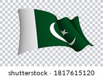 pakistan flag state symbol...   Shutterstock .eps vector #1817615120
