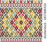 geometric pattern background in ...   Shutterstock .eps vector #1817686310