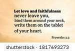 Bible Words About Love And...