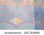 russian money bill  macro... | Shutterstock . vector #181769840