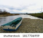 River And Riverbed Boats...