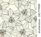 pattern floral seamless  eps 10 | Shutterstock .eps vector #181779989