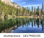 Grassi Lakes   The Upper And...