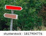 Directional Arrow Signs On...