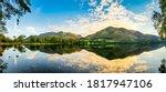 Buttermere Lake Panorama At...