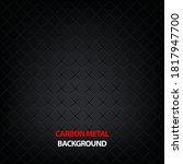 black carbon metallic seamless... | Shutterstock .eps vector #1817947700