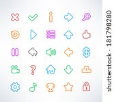 simple game icons