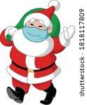 Walking Santa Claus With...