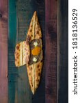 Small photo of Indispensable for traditional Turkish cuisine, dough and pita(pide)