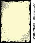 the vector vertical halloween...   Shutterstock .eps vector #1818138620
