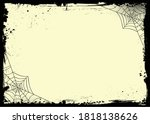 the vector halloween banner... | Shutterstock .eps vector #1818138626