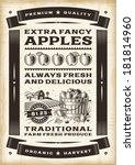 agriculture,antique,apple,art,background,banner,barn,black,bucket,bushel,design,drawing,engraving,eps10,farm