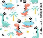 vector hand drawn children s... | Shutterstock .eps vector #1818235070