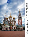 "Orthodox church of ""All Saints in Honor of Who Lost in WWI"" in Gusev, Kaliningrad region, Russia"