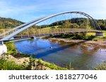 Suspension Steel Bridge For...
