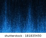 blue sparkle glitter background. | Shutterstock . vector #181835450