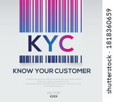 kyc mean  know your customer ...