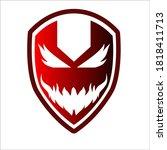 Virus Barrier Logo Vector Design