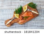 Smoked Salmon With Dill And...