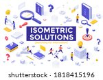 search for information set  ...   Shutterstock .eps vector #1818415196
