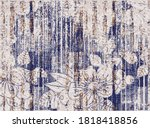 Floral  Pattern. The Leaves Are ...