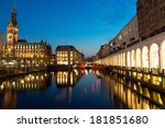 the alsterfleet and the... | Shutterstock . vector #181851680
