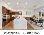 Kitchen In New Luxury Home With ...