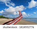 legian  kuta  bali   indonesia  ... | Shutterstock . vector #1818552776