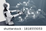 Ai Robot Using Computer To Chat ...