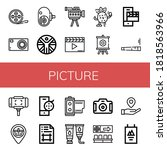 Picture Icon Set. Collection Of ...