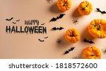 halloween decorations made from ... | Shutterstock . vector #1818572600