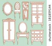 acessórios,poltrona,mesa,cadeira,clássico,relógios,coleção,curva de nível,armário,gavetas,cômoda,avô,família,viver,cabeceira