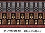 seamless traditional asian...   Shutterstock .eps vector #1818603683